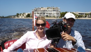 Sharon and Ian from Palatine Productions on the Noosa Dream