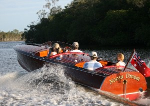 Noosa tours and activities- family classic boat ride on the noosa river