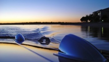 Things to do in Noosa - see sunset on the Noosa River on a classic boat ride
