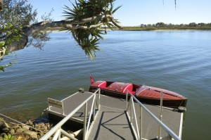 Noosa river classic boat transfers to Rickys