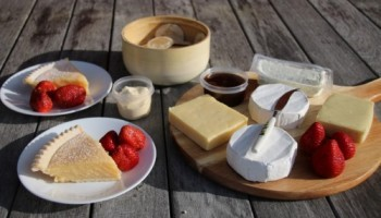 Noosa Dreamboats picnic cruise cheese platter