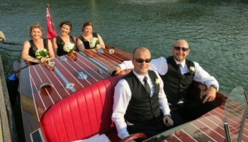 Bridal party - wedding transport - Noosa