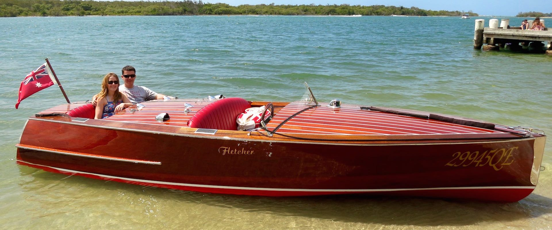 Things to do in noosa - classic boat beach picnic