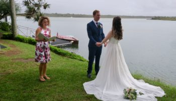 Noosa wedding boat